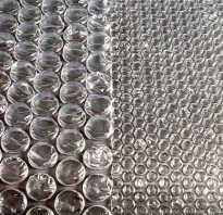 Воздушно пузырчатая пленка для теплиц