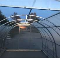 Теплица кабриолет флора со съемной крышей