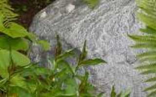 Искусственные камни для сада и ландшафта