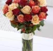 Как сохранить букет роз в домашних условиях
