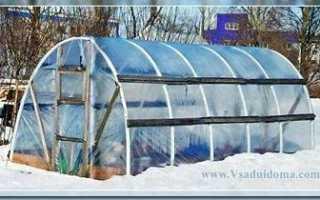 Как отапливать теплицу из поликарбоната зимой
