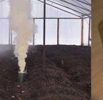 Дымовые шашки для дезинфекции теплиц